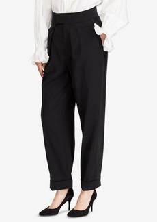 Ralph Lauren: Polo Polo Ralph Lauren Satin-Trim Straight Pants