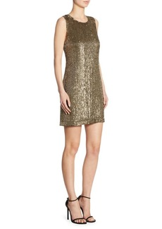 Polo Ralph Lauren Sequined Shift Dress