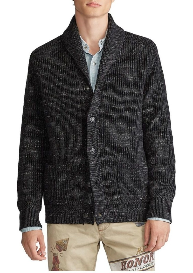 Ralph Lauren Polo Polo Ralph Lauren Shawl-Collar Cotton Cardigan