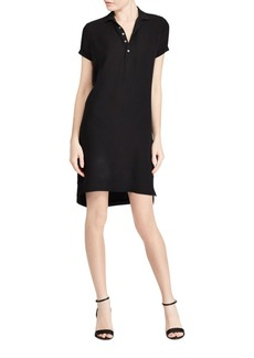 Ralph Lauren: Polo Polo Ralph Lauren Short Sleeve Silk Polo Dress