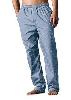 Ralph Lauren Polo Polo Ralph Lauren Signature Print Cotton Pajama Pants