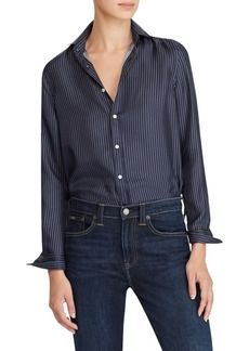 Ralph Lauren: Polo Polo Ralph Lauren Silk Button-Front Shirt