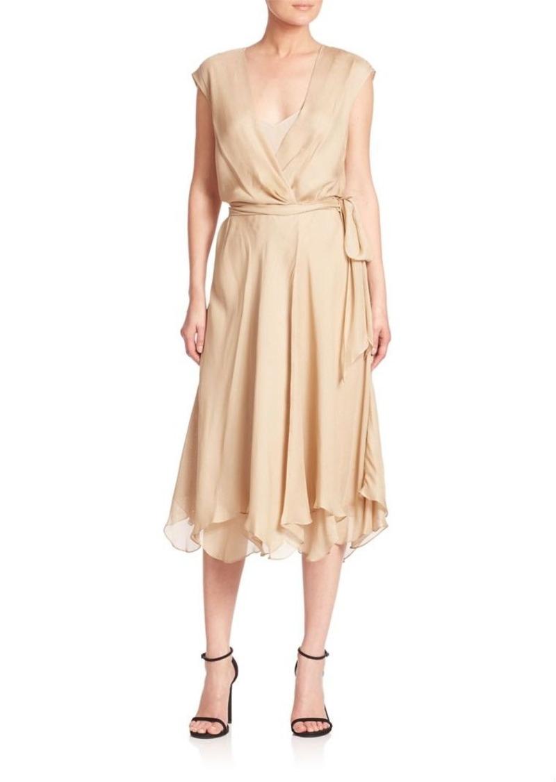 Ralph Lauren: Polo Polo Ralph Lauren Silk Gauze Wrap Dress