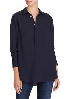 Ralph Lauren: Polo Silk Georgette Tunic Top