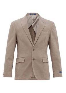 Ralph Lauren Polo Polo Ralph Lauren Single-breasted cotton-blend blazer