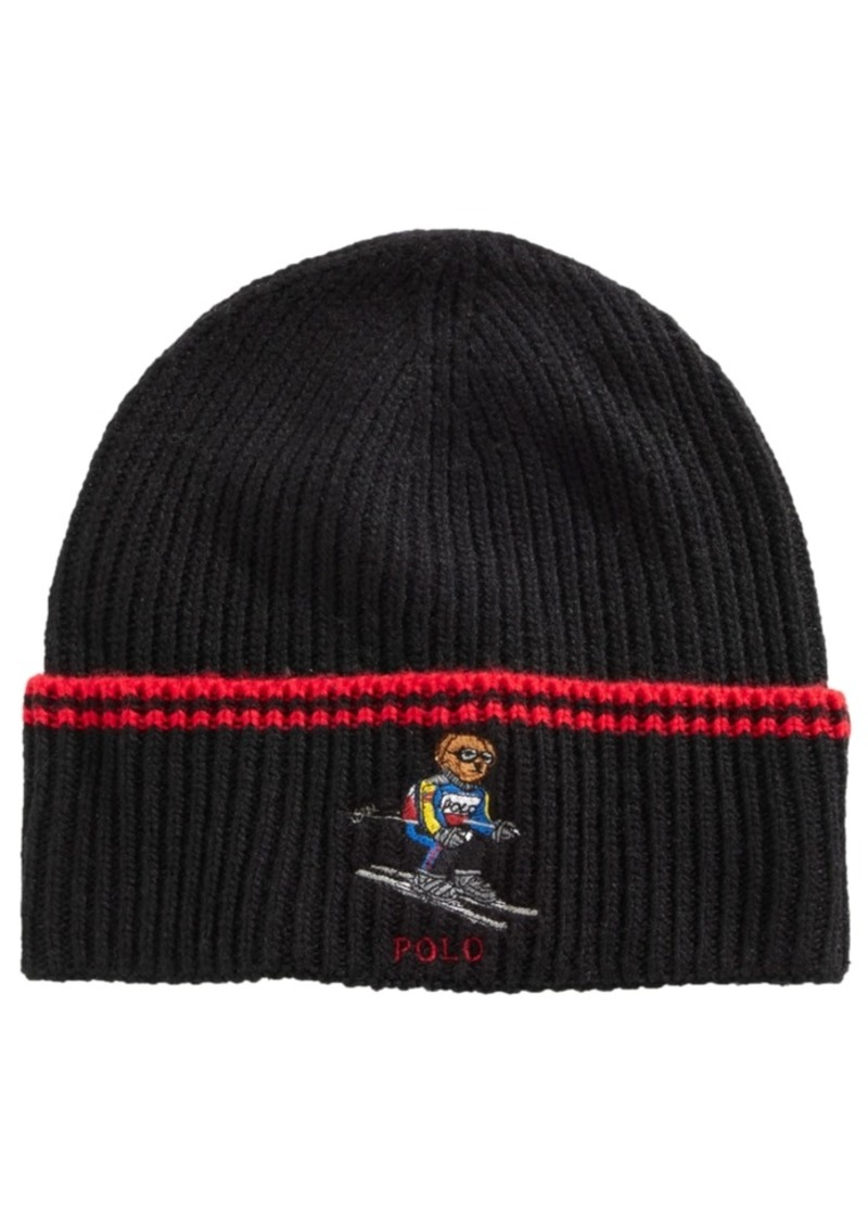 Ralph Lauren Polo Polo Ralph Lauren Skiing Bear Cuffed Hat