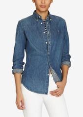 Ralph Lauren: Polo Polo Ralph Lauren Slim-Fit Denim Shirt
