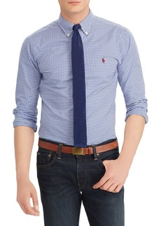 Ralph Lauren Polo Polo Ralph Lauren Slim-Fit Gingham Cotton Button-Down Shirt
