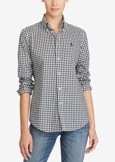 Ralph Lauren: Polo Polo Ralph Lauren Slim-Fit Gingham Poplin Shirt
