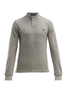 Ralph Lauren Polo Polo Ralph Lauren Slim-fit long-sleeve cotton-piqué polo shirt