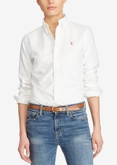 Ralph Lauren: Polo Polo Ralph Lauren Slim Fit Long-Sleeve Oxford Shirt