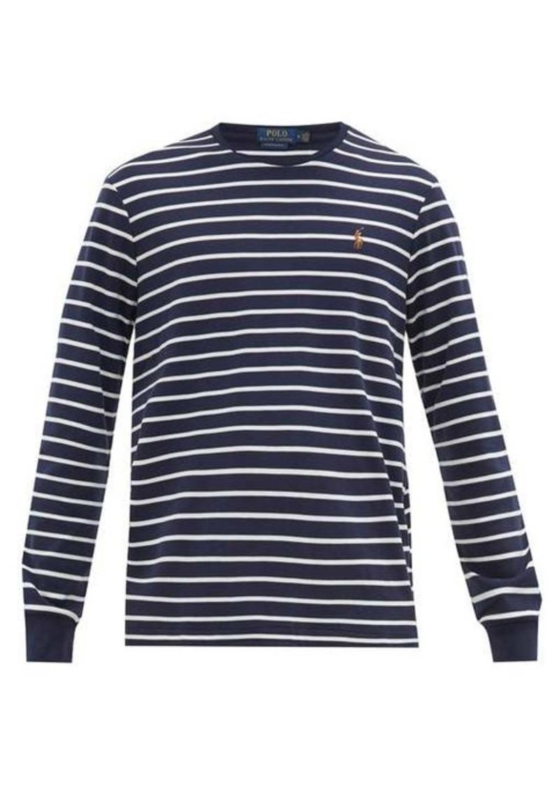 Ralph Lauren Polo Polo Ralph Lauren Slim-fit striped cotton-jersey T-shirt