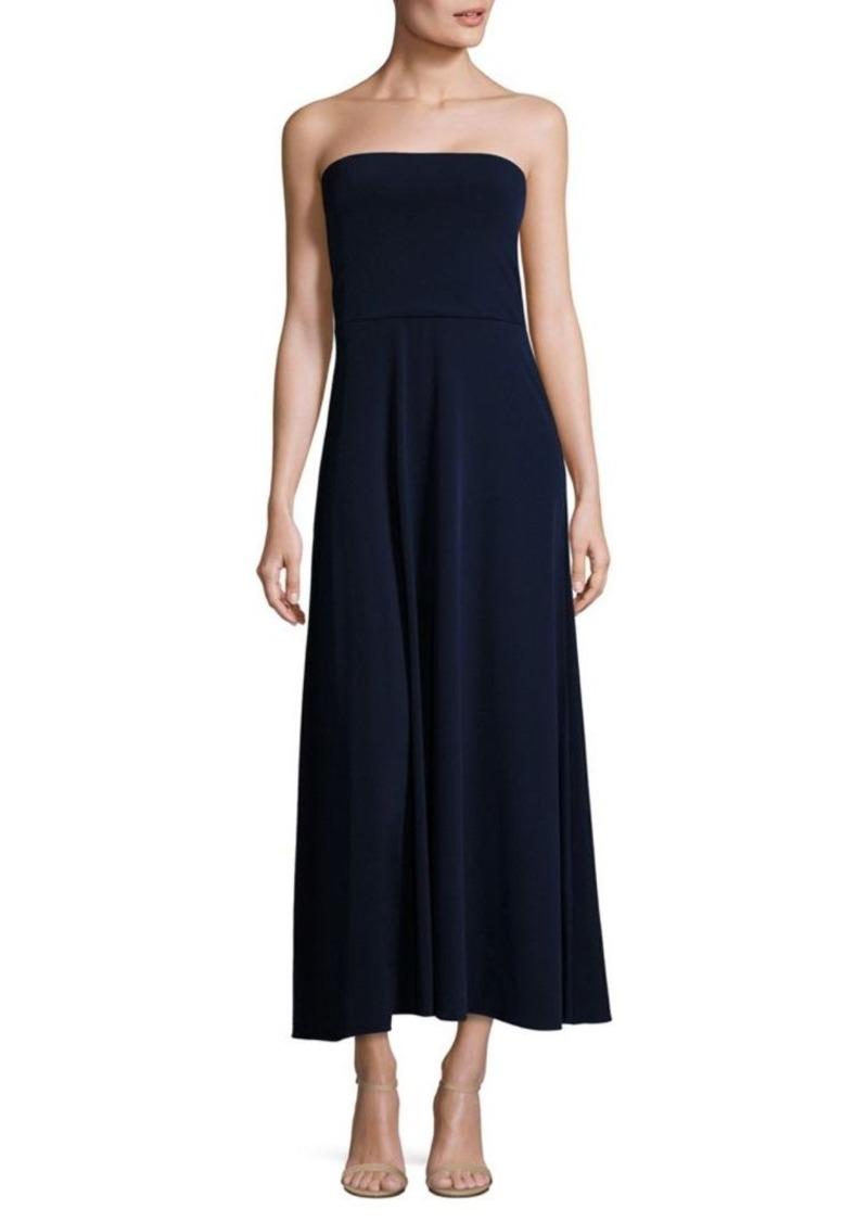 Maxi Ralph Lauren Dress Jersey Strapless Polo CxrdeoBW