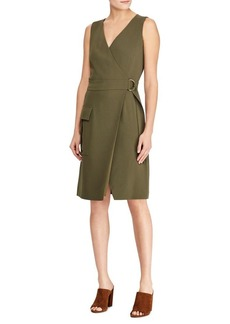 Ralph Lauren: Polo Stretch Cady Wrap Dress