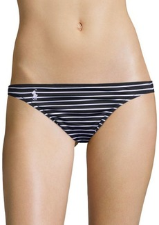 Ralph Lauren: Polo Polo Ralph Lauren Striped Bikini Bottom