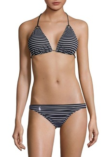 Ralph Lauren: Polo Polo Ralph Lauren Striped Bikini Top