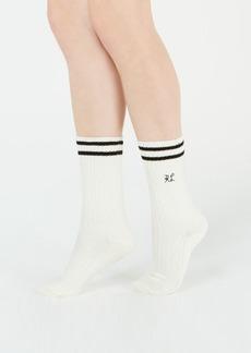 Ralph Lauren: Polo Polo Ralph Lauren Striped Cable-Knit Boot Socks