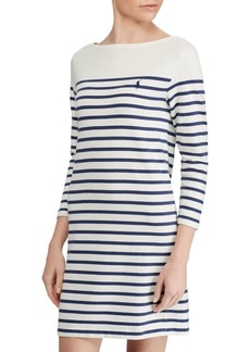Ralph Lauren: Polo Striped Cotton Dress