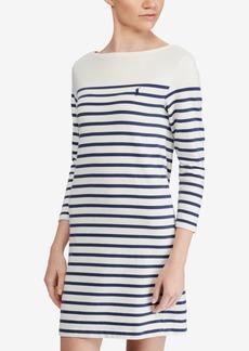 Ralph Lauren: Polo Polo Ralph Lauren Striped Cotton Jersey Dress