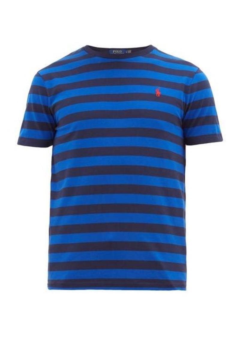 Ralph Lauren Polo Polo Ralph Lauren Striped cotton-jersey T-shirt