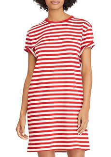 Ralph Lauren: Polo Polo Ralph Lauren Striped Cotton Jersey T-Shirt Dress
