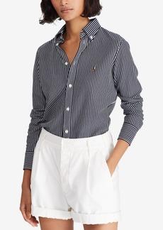 Ralph Lauren: Polo Polo Ralph Lauren Striped Cotton Oxford Shirt