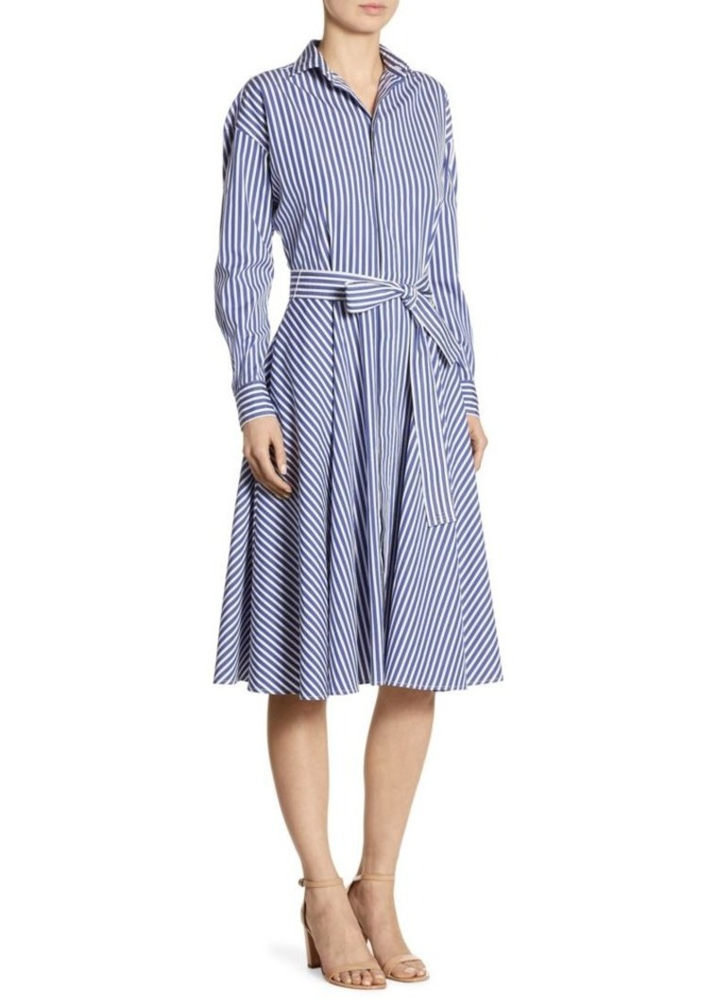 Ralph Lauren Polo Polo Ralph Lauren Striped Cotton Poplin Shirtdress