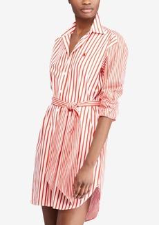 Ralph Lauren: Polo Polo Ralph Lauren Striped Cotton Shirtdress