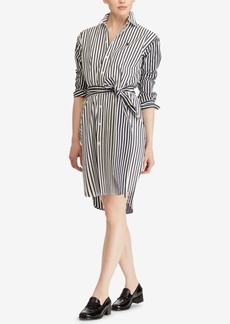 Ralph Lauren: Polo Polo Ralph Lauren Striped Cotton Shirtdress