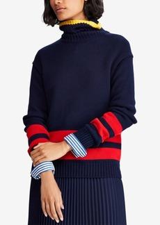Ralph Lauren: Polo Polo Ralph Lauren Striped Cotton Sweater