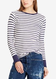 Ralph Lauren: Polo Polo Ralph Lauren Striped Cotton T-Shirt