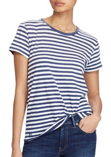Ralph Lauren: Polo Polo Ralph Lauren Cotton Striped Crewneck Tee