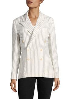 Ralph Lauren: Polo Polo Ralph Lauren Striped Double-Breasted Blazer