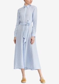 Ralph Lauren: Polo Polo Ralph Lauren Striped Linen Shirtdress