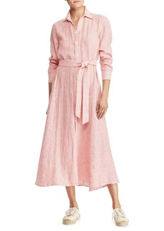 Ralph Lauren: Polo Polo Ralph Lauren Striped Linen Shirtdress
