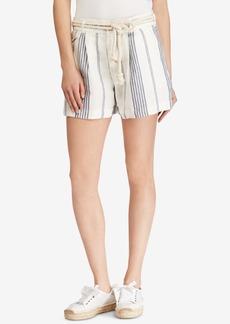 Ralph Lauren: Polo Polo Ralph Lauren Striped Linen Shorts
