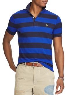 Ralph Lauren Polo Polo Ralph Lauren Striped Mesh Custom Slim Fit Polo Shirt - 100% Exclusive