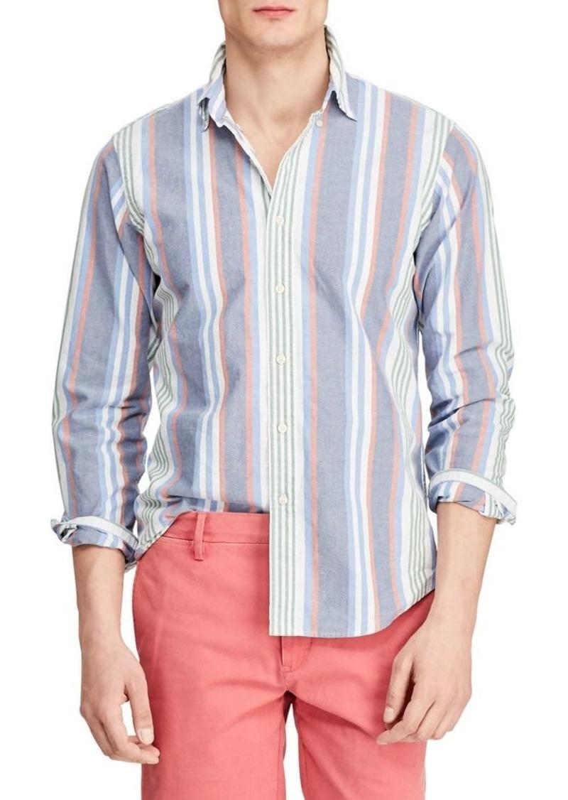 Ralph Lauren Polo Polo Ralph Lauren Striped Oxford Button Front Shirt