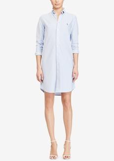 Ralph Lauren: Polo Polo Ralph Lauren Striped Oxford Cotton Shirtdress