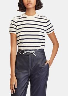 Ralph Lauren: Polo Polo Ralph Lauren Striped Short-Sleeve Sweater