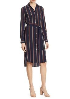 Ralph Lauren: Polo Polo Ralph Lauren Striped Silk Shirtdress