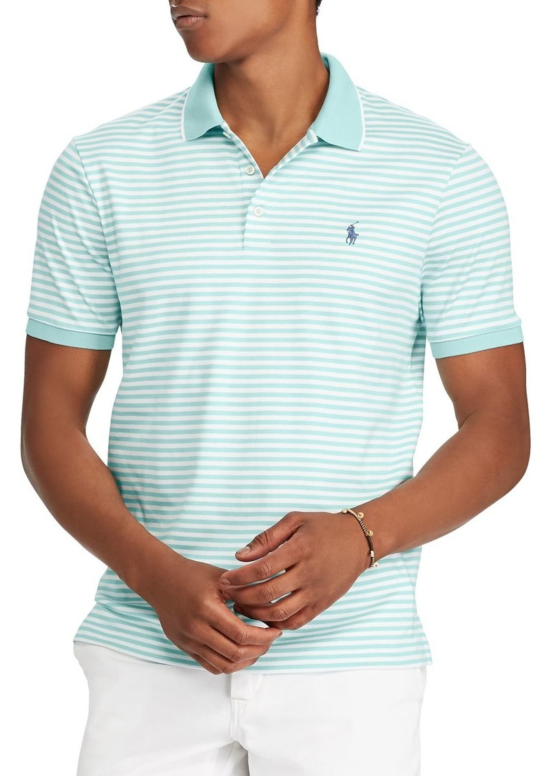 16f25e5296200 Ralph Lauren Polo Polo Ralph Lauren Striped Soft-Touch Classic Fit Polo  Shirt