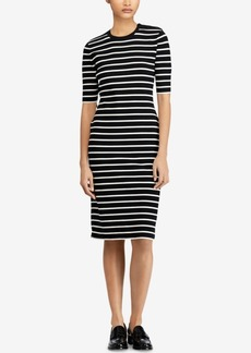 Ralph Lauren: Polo Polo Ralph Lauren Striped Sweater Dress