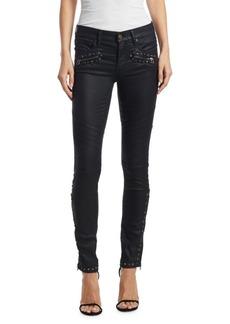 Ralph Lauren: Polo Polo Ralph Lauren Studded Coated Skinny Jeans