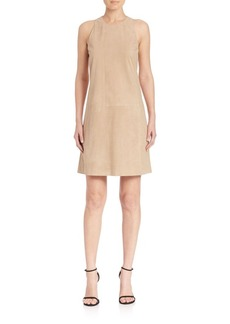 Polo Ralph Lauren Suede Shift Dress