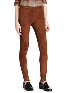 Ralph Lauren: Polo Suede Skinny Pants