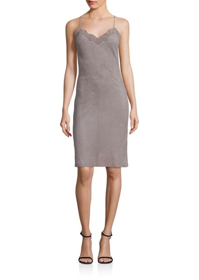 Ralph Lauren: Polo Polo Ralph Lauren Suede Slip Dress