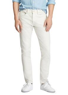 Ralph Lauren Polo Polo Ralph Lauren Sullivan Cotton Stretch Slim Fit Jeans in Hudson Stone