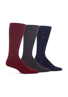 Ralph Lauren Polo Polo Ralph Lauren Super Soft Flat Knit Socks - Pack of 3