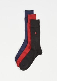 Ralph Lauren Polo Polo Ralph Lauren Supersoft Flat Knit Slack Socks